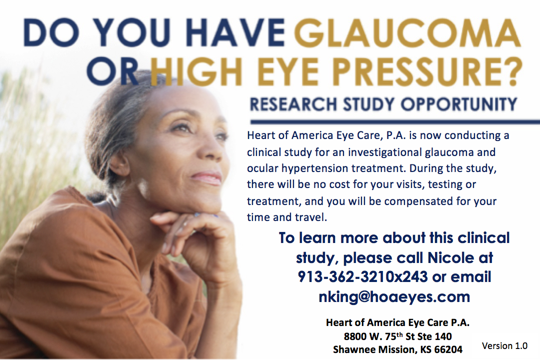 Glaucoma Study - Heart of America Eye Care